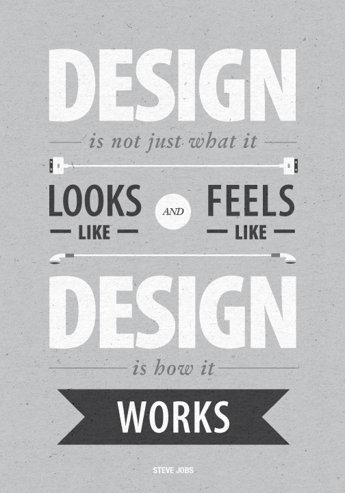 poster quote Quotes Steve Jobs apple Good easy hard problem motivation inspiration