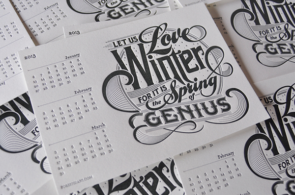 Great Calendar Design : Great calendar designs for your inspiration easyprint