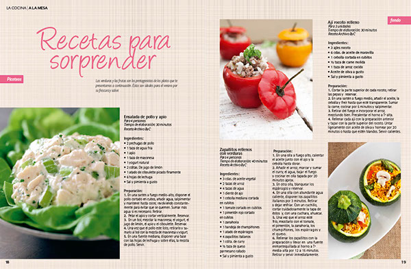 Dise o editorial revista la cocina on behance - Paginas de diseno de interiores ...