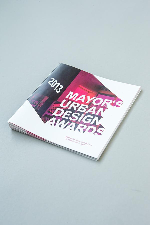 Mayor's Urban Design award show Architecture Event