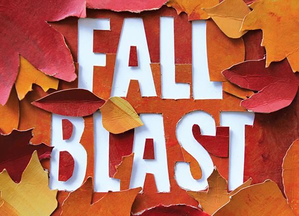 cut paper  Fall  Miracle Camp Handmade Ad