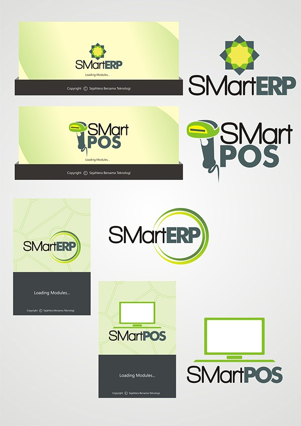 LOGO SMartPOS & SMartERP KSB on Behance