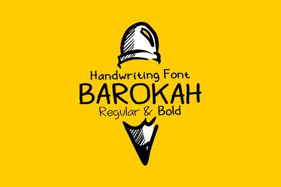 font barokah font free download comic