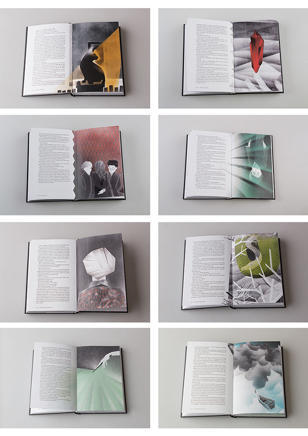 Illustrations on inside pages