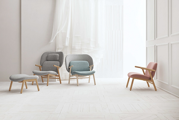 COSH series of armchairs for Bolia.com