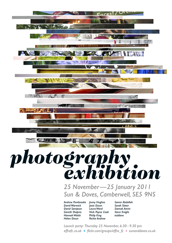 poster flyer Exhibition
