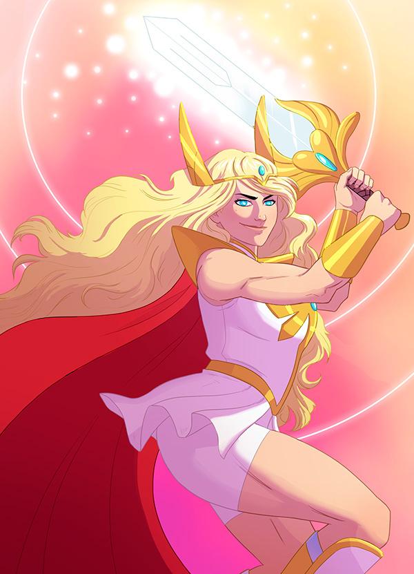 Fanart She Ra And The Princesses Of Power On Scad Portfolios