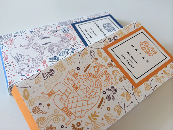 chocolate boxes on behance