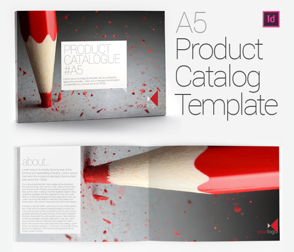 A Product Catalog Brochure Template On Behance - A5 brochure template