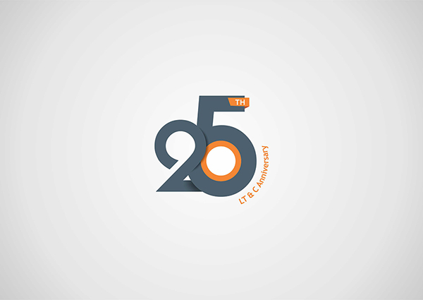 25th anniversary logo design on behance rh behance net 25th anniversary logo ideas 25th anniversary logo vector