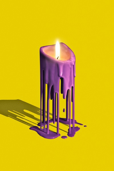 Melted Candles on Behance - 26.3KB