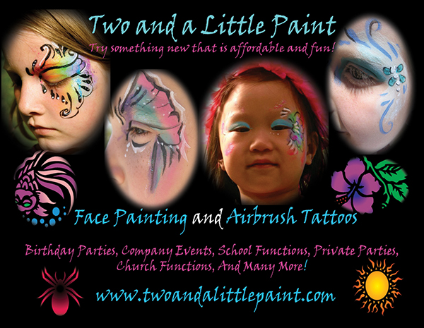 Face painting business on scad portfolios for Face painting business