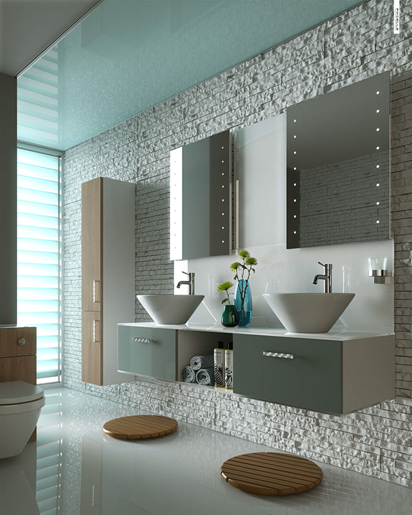 Bathroom cgi project on behance - Nice bathroom designs for small spaces ...