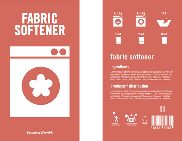 Fabric Softener Symbol