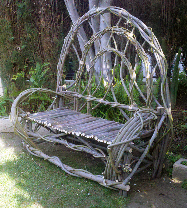 Willow Bench On Behance