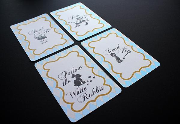 wedding Hochzeit Invitation einladung Alice im Wunderland alice in wonderland