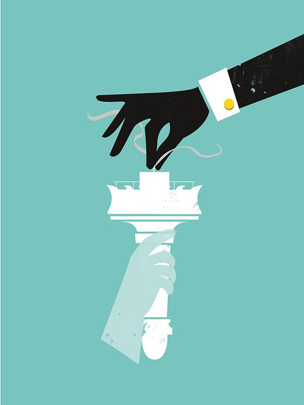 Social Awareness Illustration Series on Behance