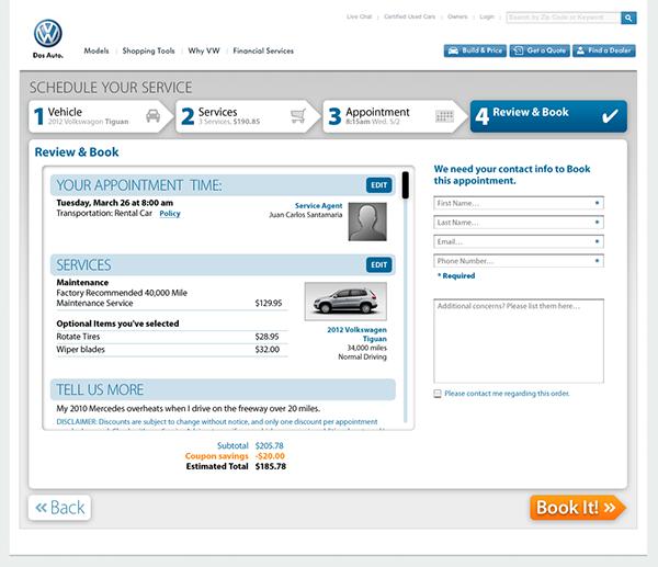 scheduling Vehicle Service