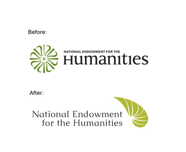 National Endowment For The Humanities Logo Redesign On Behance