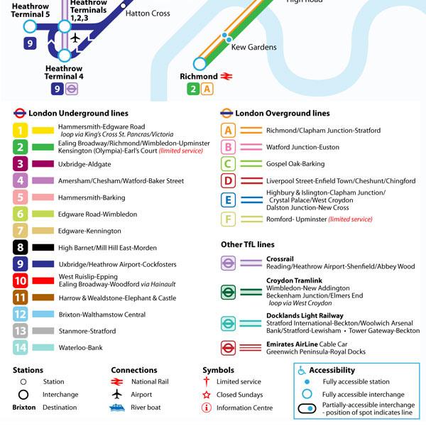 alternative 2015 tube map design on behance