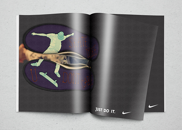 Nike - Magazine advertisement. 2014 on Behance  Nike - Magazine...