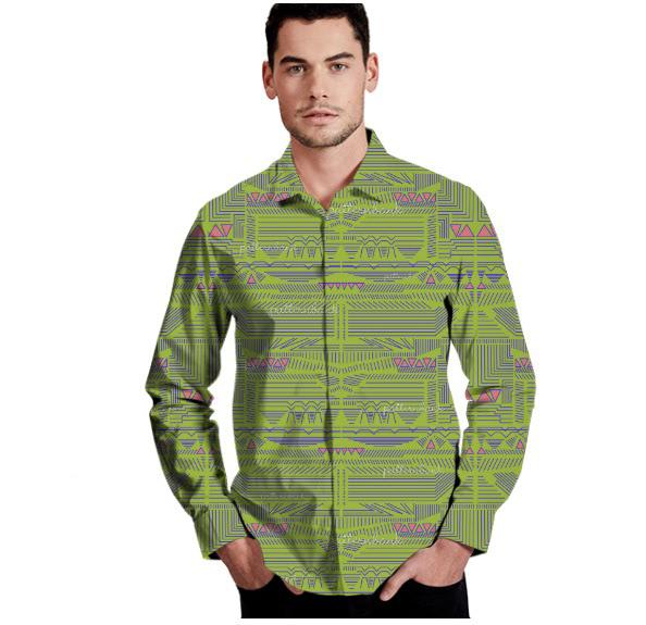 Image may contain: shirt, sleeve and jacket