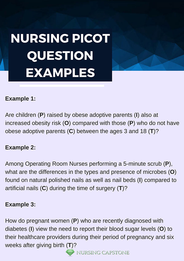 nursing picot question examples on pantone canvas gallery