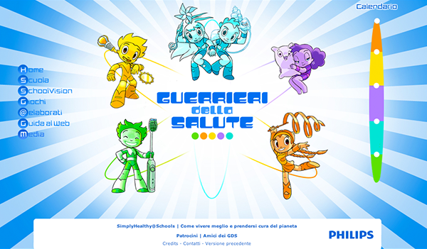 guerrieri warriors salute Health Philips game Web site Character Layout