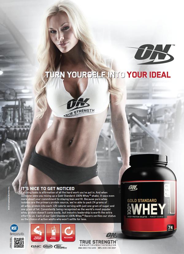 Optimum Nutrition Ads On Behance