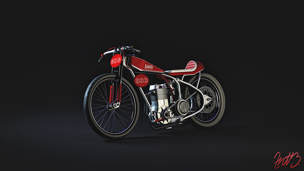 Speedway Motorcycle Racing Bikes: Jawa 500cc Speedway Bike Cafe Racer On Behance