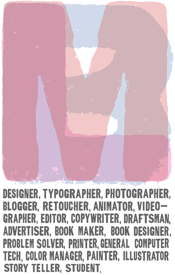 wood block typographic posters on sva portfolios