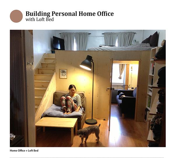 Home Office Loft Bed On Pratt Portfolios