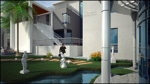 3dmax exterior rendering vray