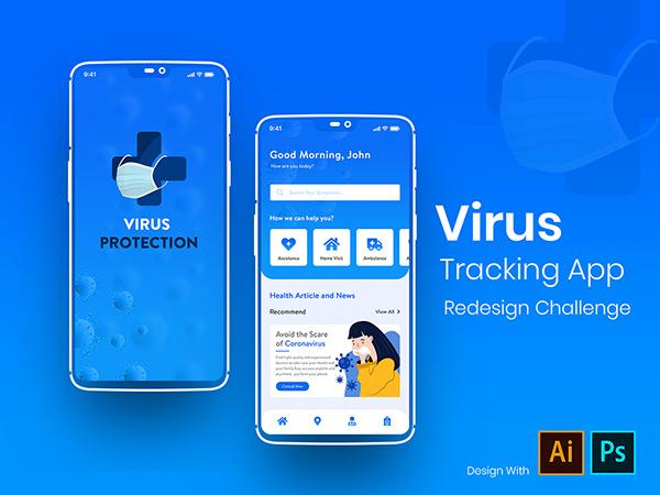 Virus Tracking App