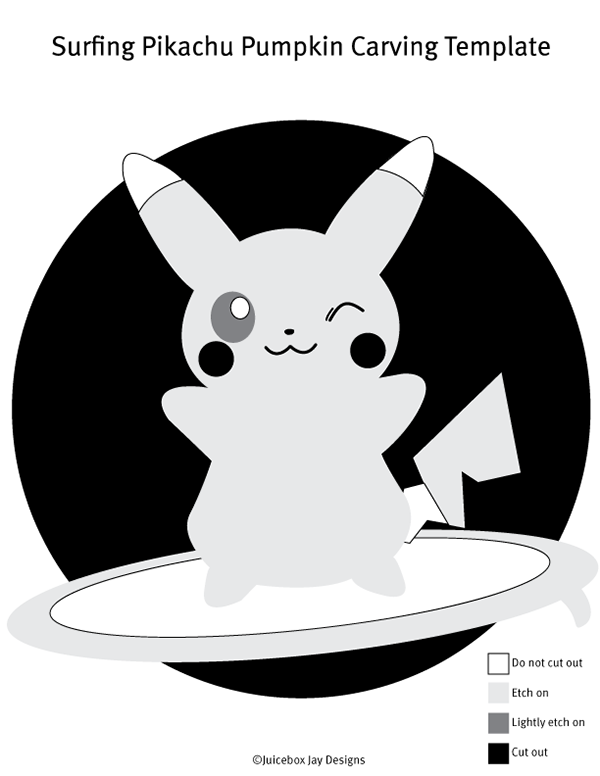 Surfing Pika Carving Template On Aiga Member Gallery