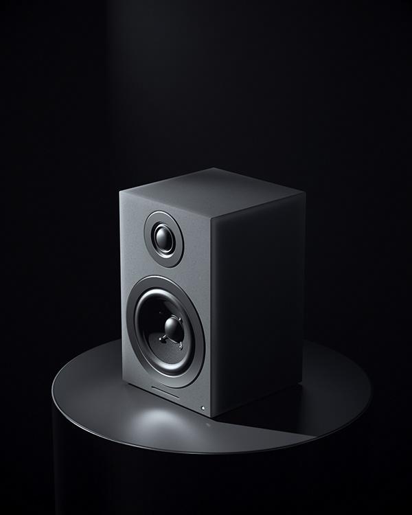 Desktop Speaker Full CGI