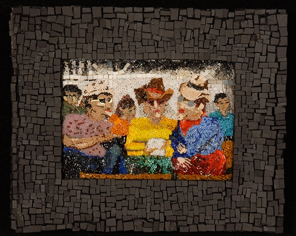 micro mosaic Mixed Media Micro Fine Art Micromosaic