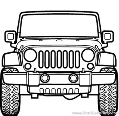 jeep rubicon 3d model on behance