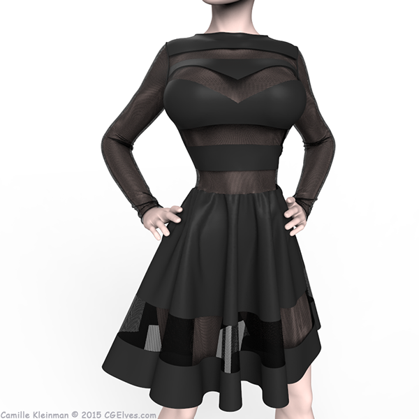Bad Girl Dress   -   Dynamic Dress made in MD5 by Camille Kleinman