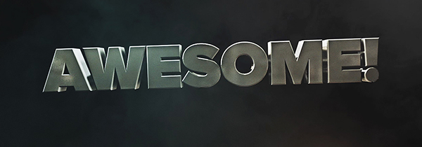 Awesome Title - Free cinema 4d/after effects template on Behance