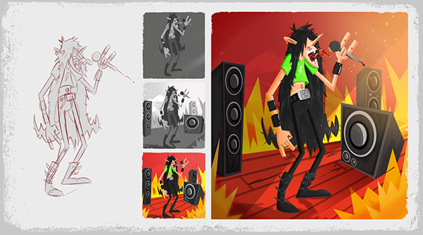 Character Design Visual Development Portfolio : Character design visual development portfolio on