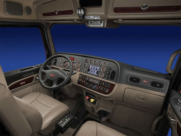 Peterbilt 389 Interior On Behance