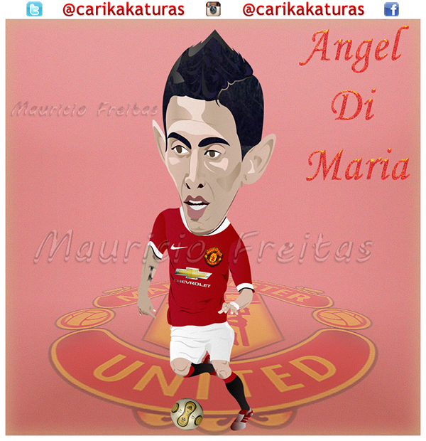 Angel Di Maria on Behance