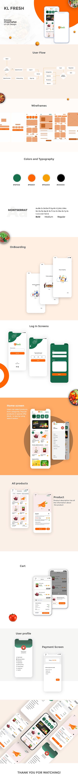 Grocery app- UI Design