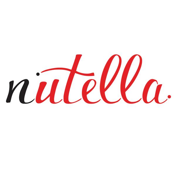 Nutella Logo Design On Behance