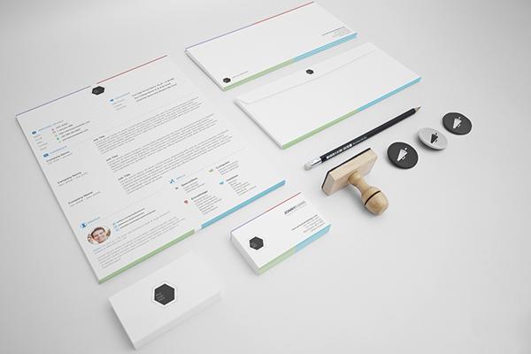 Resume template CV type