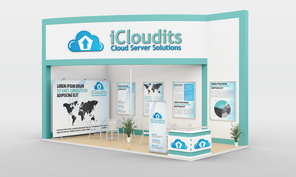 Exhibition Stand Design Software Free : Exhibition stand design mockup on behance