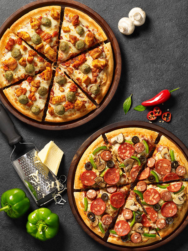Pizza Hut New Menu on Behance