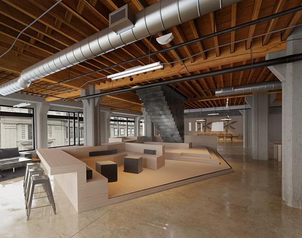 Office design Interior 3d max corona