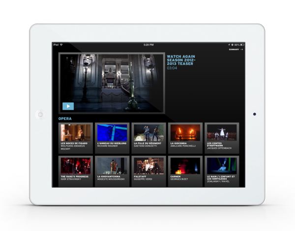 iPad android app